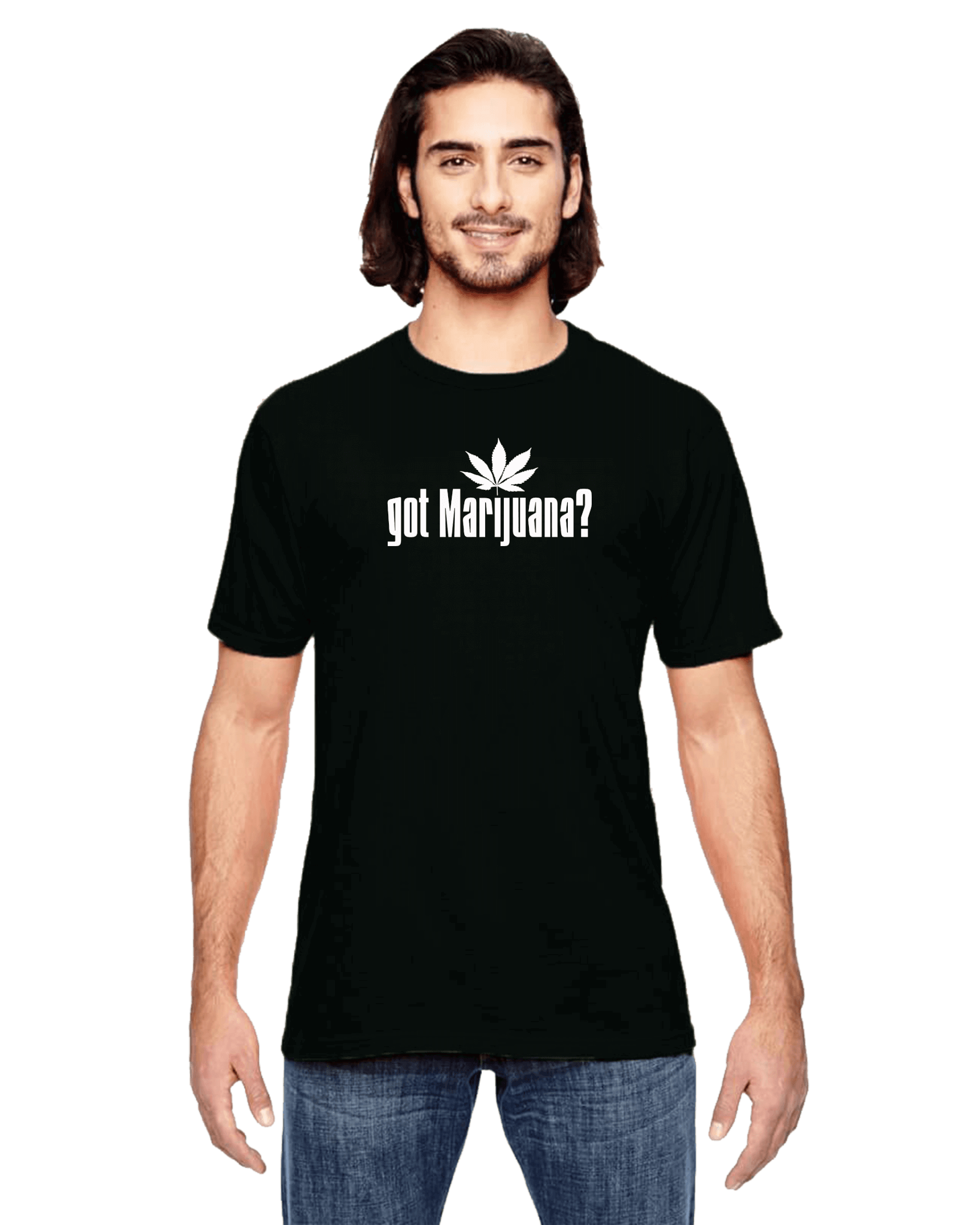 got marijuana 420 t-shirt black